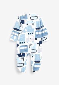 Next - 5 PACK PRINTED  - Sleep suit - blue - 2