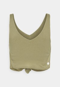 Cotton On Body - DOUBLE TROUBLE TANK - Top - oregano - 1