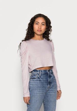Camiseta de manga larga - shell pink