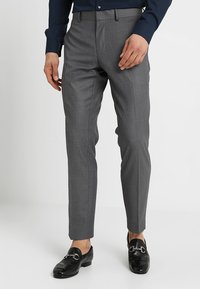 Isaac Dewhirst - FASHION SUIT - Suit - mid grey - 4