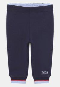 BOSS Kidswear - BOTTOMS - Trousers - navy - 0
