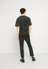 Jaded London - WASHED REGIONAL STATE - T-shirt con stampa - black - 2