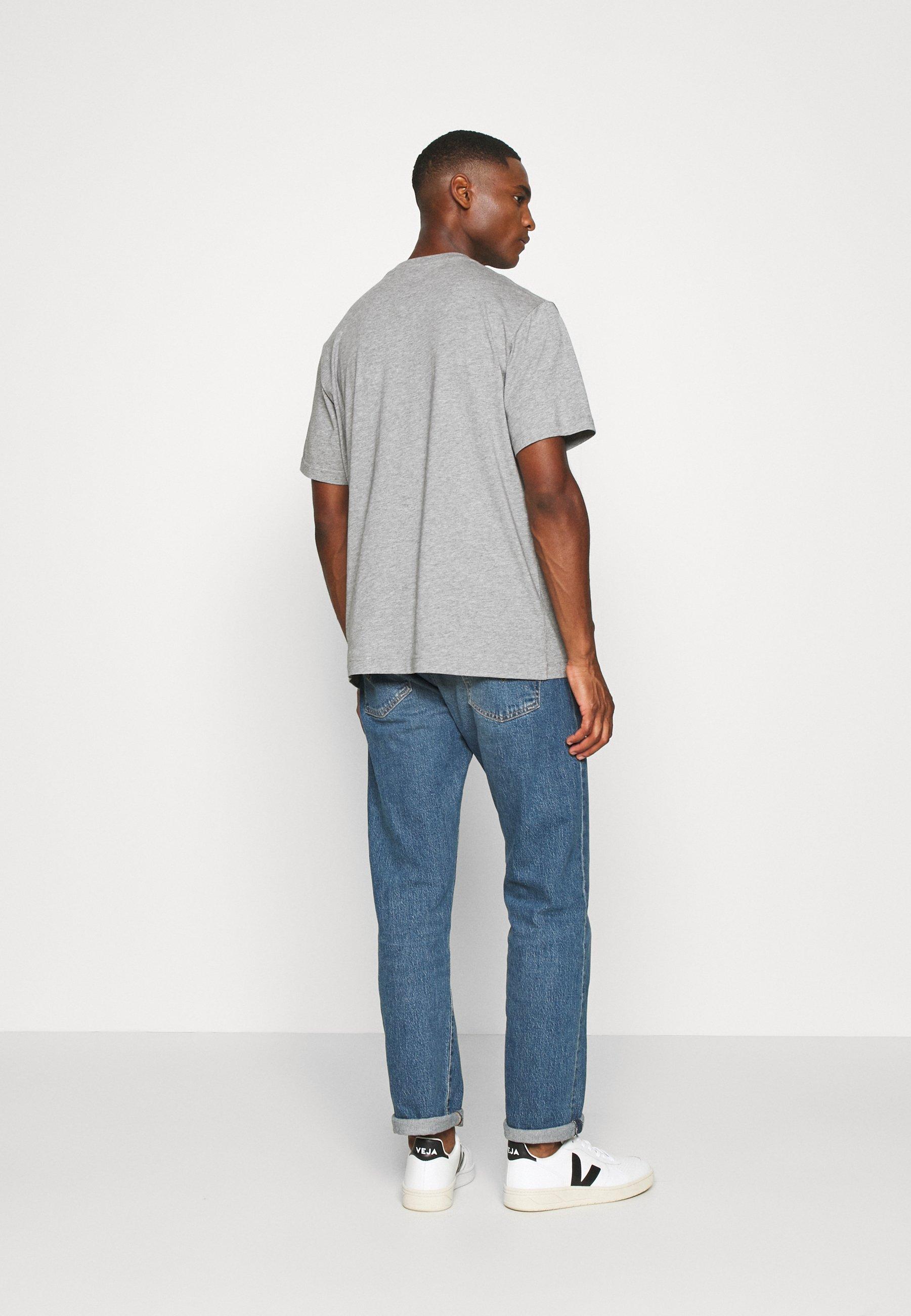 ARKET T-SHIRT - Basic T-shirt - grey medium dusty mgfDa