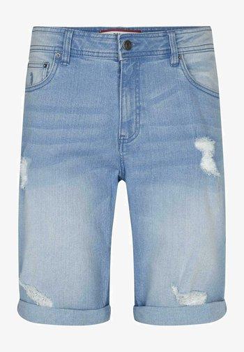 CHANO - Jeansshorts - light blue