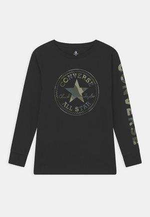 CAMO TEE - Pitkähihainen paita - black