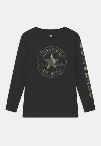 CAMO TEE - Maglietta a manica lunga - black