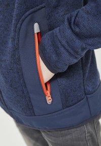 ZIGZAG - Zip-up hoodie - 2048 navy blazer - 4