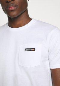 Ellesse - MELEDO - T-shirts basic - white - 5