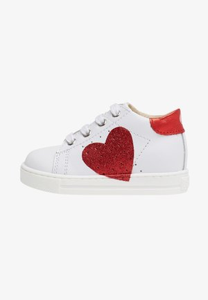 HEART - Baby shoes - white