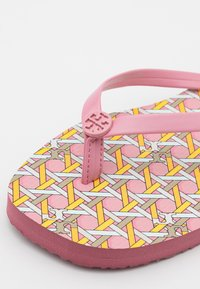 Tory Burch - SQUARE TOE  - T-bar sandals - pink - 6