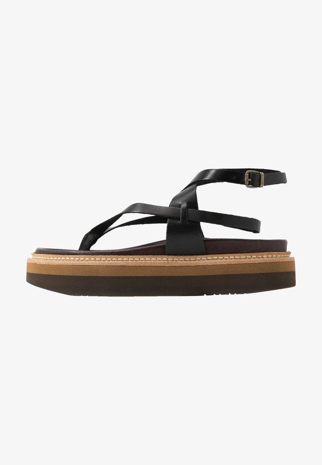 ESTERELLA - Flip Flops - black