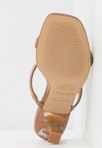 ALDO - ROCKY BARNES CAPRI - Heeled mules - medium brown - 6