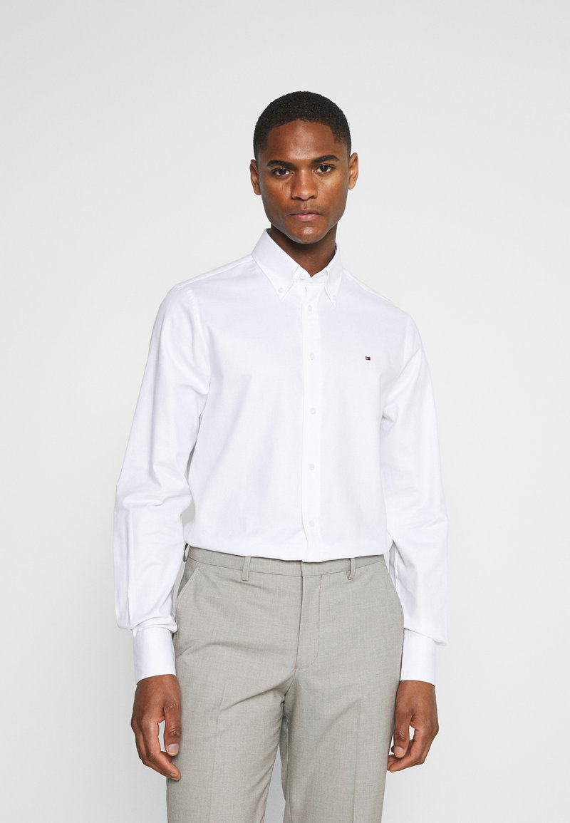 Tommy Hilfiger Tailored - OXFORD SLIM FIT - Formal shirt - white