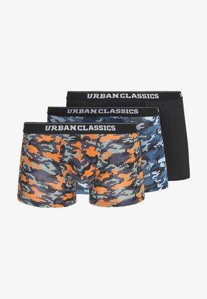 3 PACK - Pants - blue/ orange/black