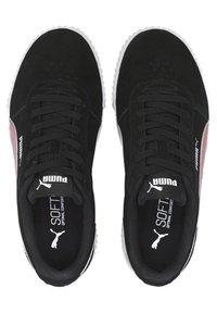 Puma - CARINA YOUTH - Trainers - black foxglove - 1
