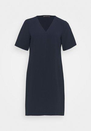 PLAIN SHIFT DRESS - Day dress - dark blue