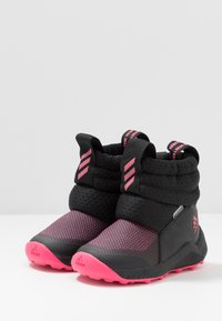 adidas Performance - RAPIDASNOW - Winter boots - core black/real pink/footwear white - 3