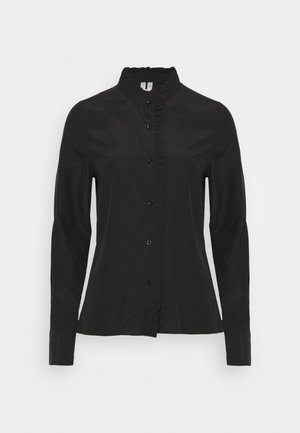 BLOUSE - Skjortklänning - black dark