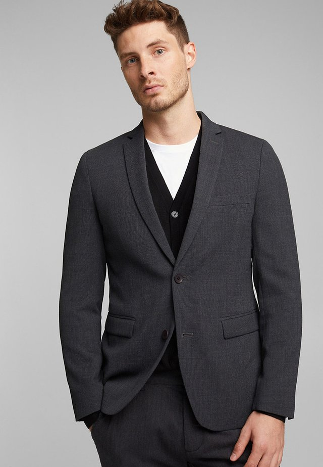 STRUCTURED - Blazer - dark grey
