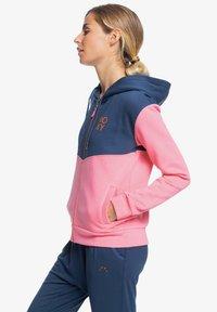 Roxy - Zip-up sweatshirt - pink lemonade - 4