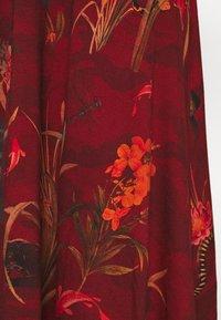 Desigual - VEST FLOWERS - Jerseykjole - red - 6