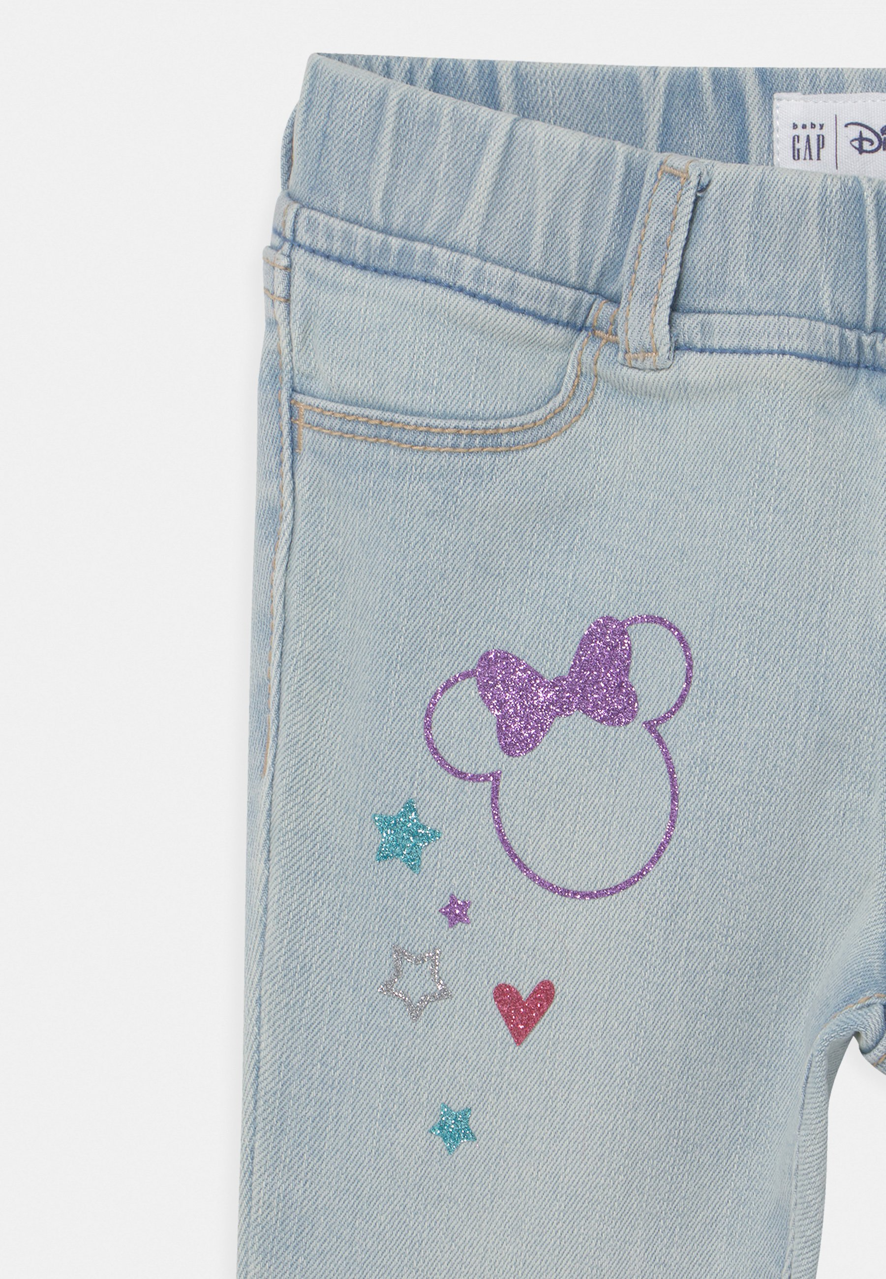 Kids TODDLER GIRL MINNIE MOUSE ANKLE  - Slim fit jeans