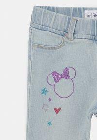 GAP - TODDLER GIRL MINNIE MOUSE ANKLE  - Slim fit jeans - blue denim - 2