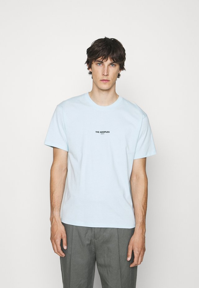 T-shirt con stampa - sky blue