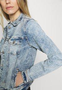edc by Esprit - JACKET - Denim jacket - blue denim - 4