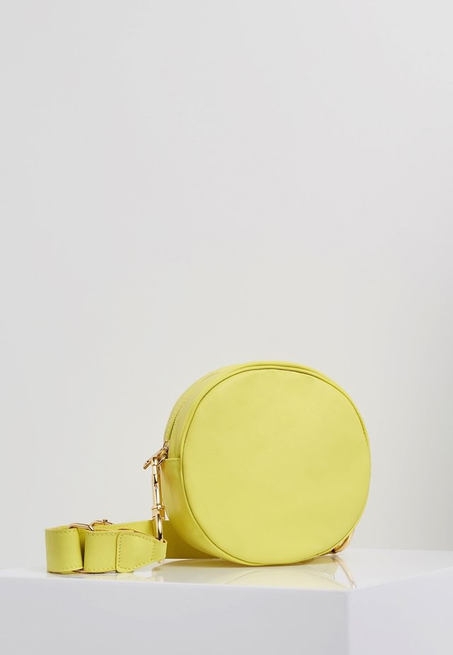 Taška spříčným popruhem - citron