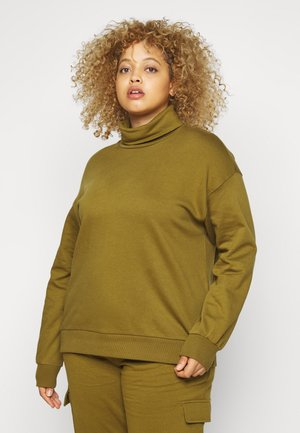 VMMERCY ROLL NECK - Sweater - fir green