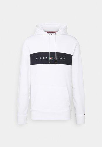 NEW LOGO HOODY - Sweatshirt - white