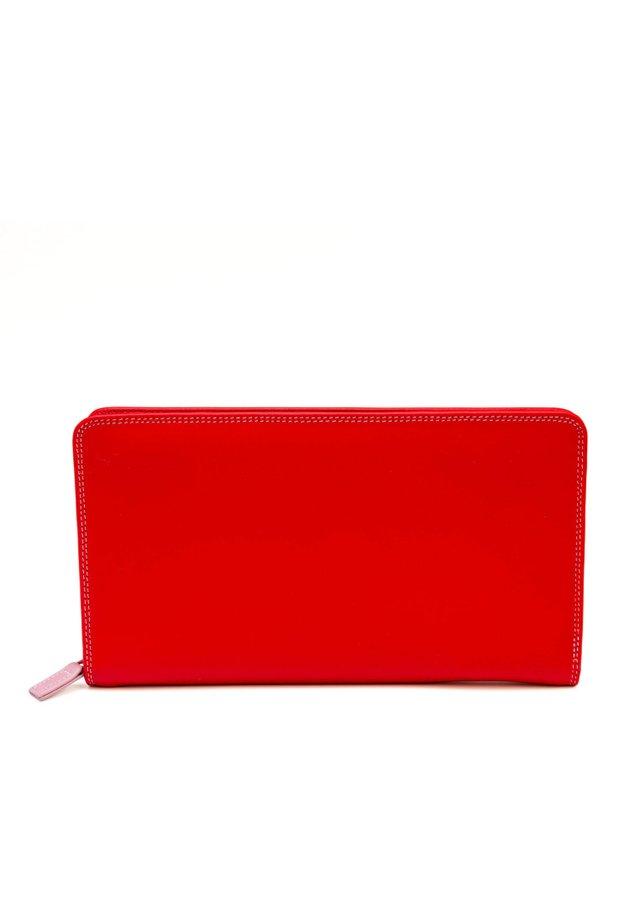 TRAVEL WALLET - Portemonnee - dark red
