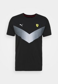 Puma - FERRARI RACE - T-shirt imprimé - black - 0