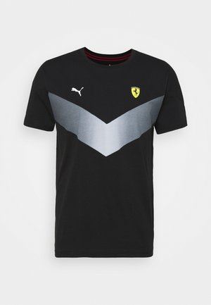 FERRARI RACE - Print T-shirt - black