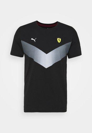 FERRARI RACE - Print T-shirt - black