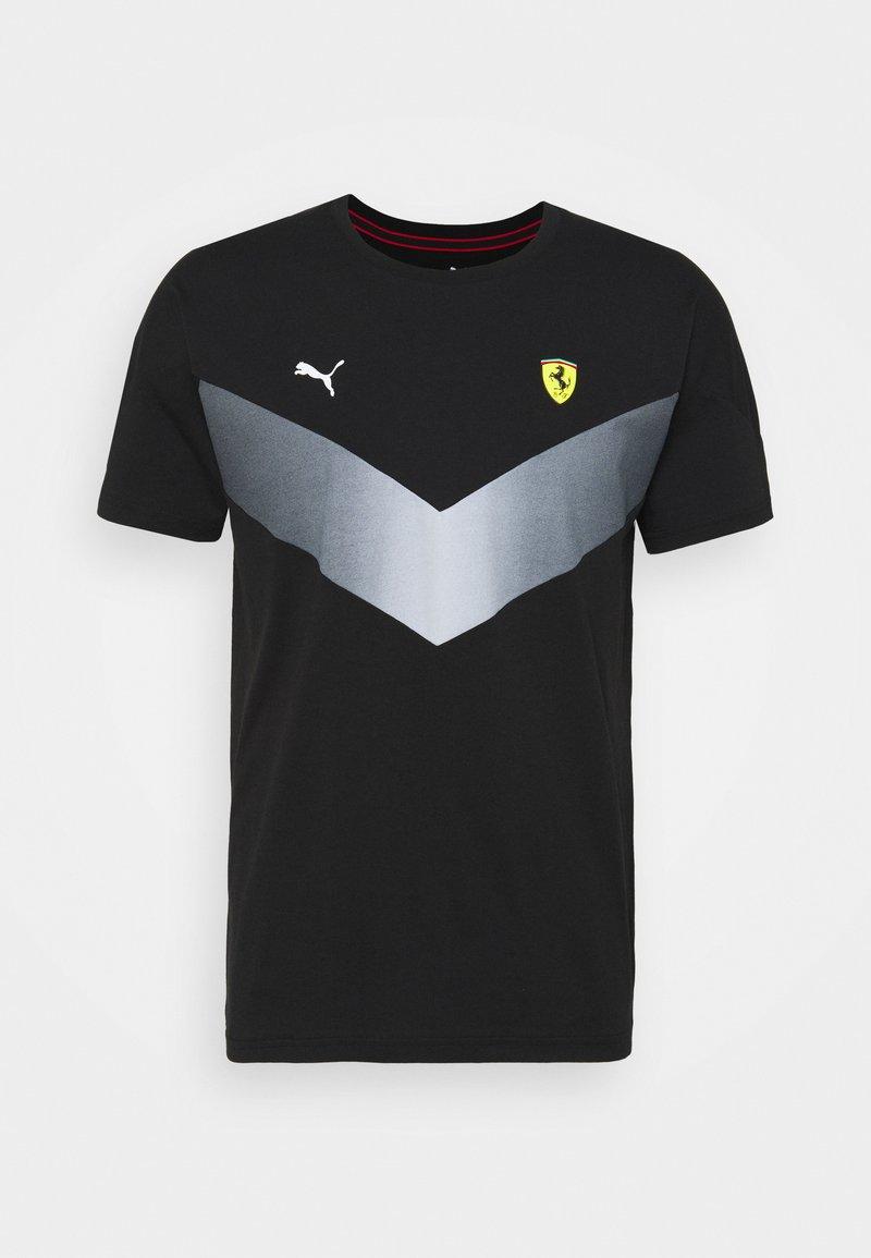 Puma - FERRARI RACE - T-shirt imprimé - black