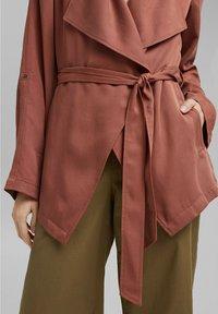 edc by Esprit - Short coat - coral - 4