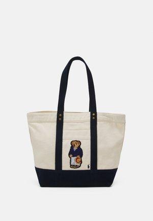 BEAR TOTE - Handbag - ecru/multi