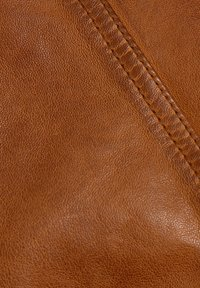 Esprit - Leather jacket - toffee - 9