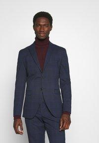 Selected Homme - MYLOLOGAN SUIT - Suit - navy blazer/brown - 2