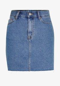 MALLORY SKIRT - Denimová sukně - retro sky blue