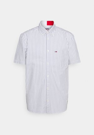 STRIPED SHORT SLEEVE - Hemd - blue