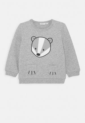 NBMNORRE BRU BABY - Sweater - grey melange