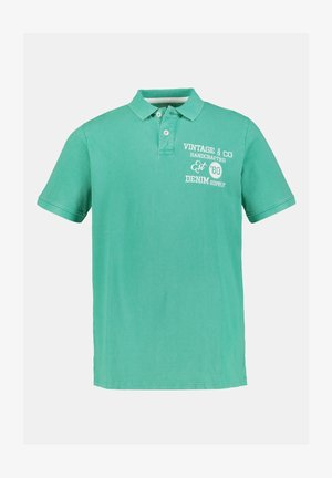 Polo shirt - farn
