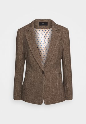 COUNTRY HERINGBONE  - Blazer - brown