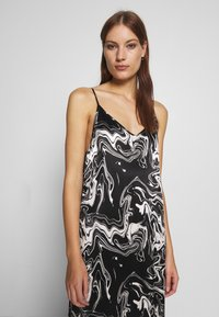 JUST FEMALE - LAVA STRAP DRESS - Day dress - black - 3