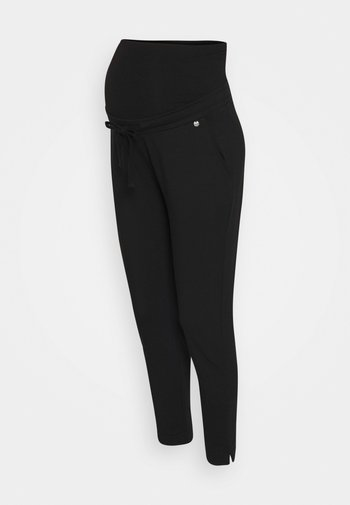 PANTS RELAX - Trousers - black