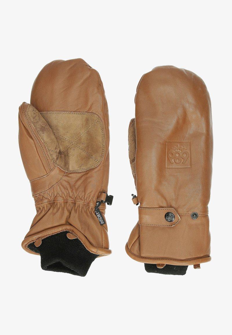 686 - Mittens - brown