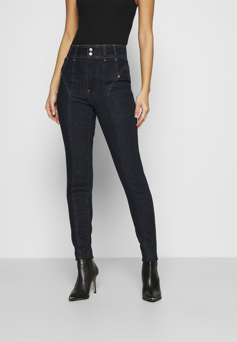 Guess - CORSET BIKER - Jeans Skinny Fit - one way
